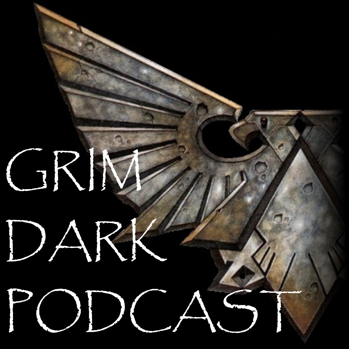 Grim Dark Podcast logo